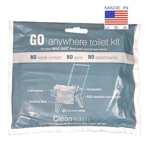Cleanwaste Go Anywhere Waste Kit