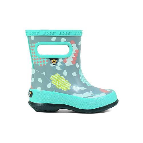 Bogs Kid's Skipper Clouds Rain Boots