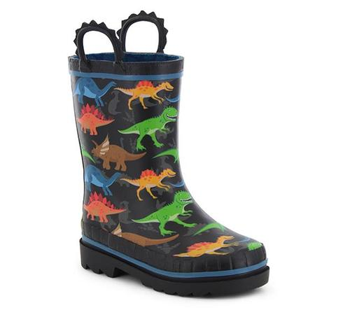 Washington Shoe Company Kid's Dino World Rain Boots