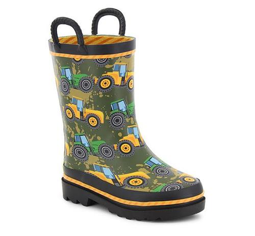 Washington Shoe Company Kid's Tractor Tough Rain Boots