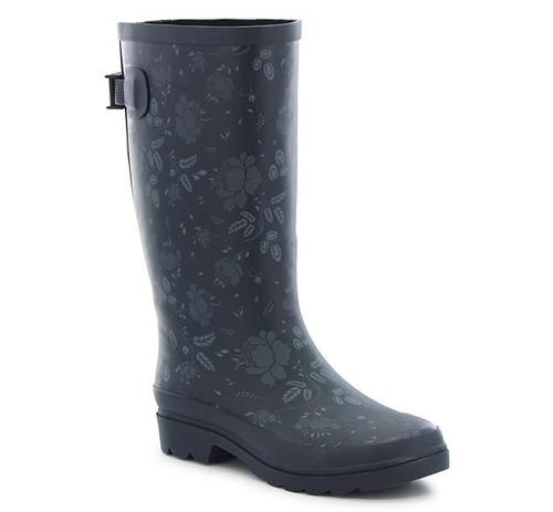 Washington Shoe Company Women's Floral Vari-Fit Rain Boot