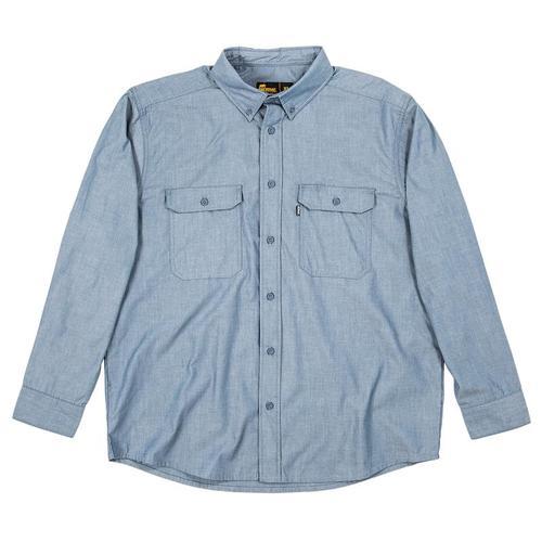 Berne Men's Chambray Work Shirt