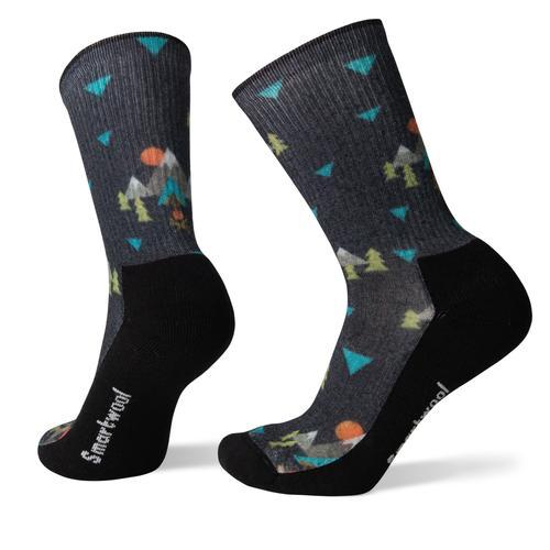 Smartwool Men's Hike Light Under The Stars Print Crew Socks