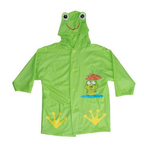 World Famous Sports Kid's Fun Character Rain Coat