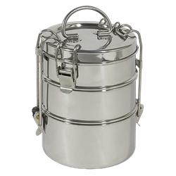 To Go Ware Stainless Steel 3 Tier Tiffin