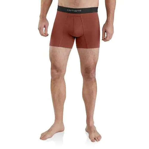 Carhartt Men's 5in Cotton Boxer Brief 2 Pack