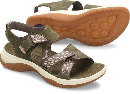 Bionica Women's Nahla Sandal in Olive