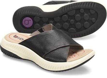 Bionica Women's Ambridge Slide Sandal in Black