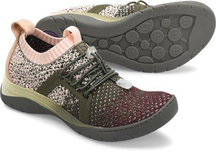 Bionica Women's Winsford Shoe in Olive Multi