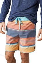 United by Blue Men's Seabed Scallop Board Short CANYON_ORANGE