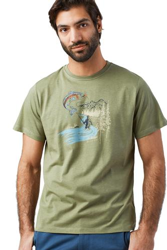 United by Blue Men's Drop A Line Tee