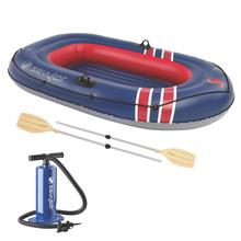 Coleman Caravelle 200 2-Person Boat Combo BLEU/RED