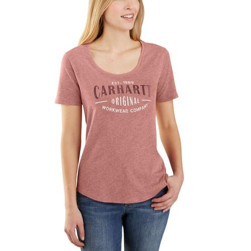 Carhartt Women's Lockhart Graphic Carhartt Workwear Tee