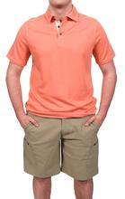 North River Men's Modal Polo Shirt CRABAPPLE