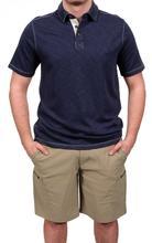 North River Men's Modal Polo Shirt INDIGO