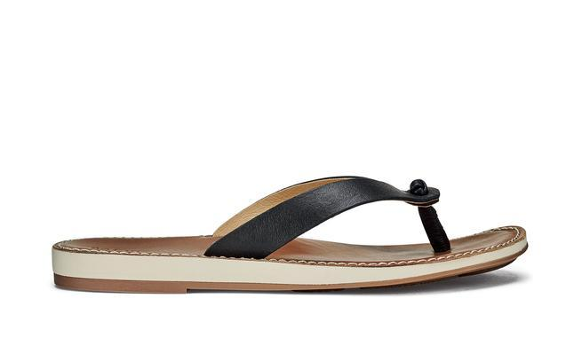 Olukai Women's Nohie Sandal BLACK/TAN