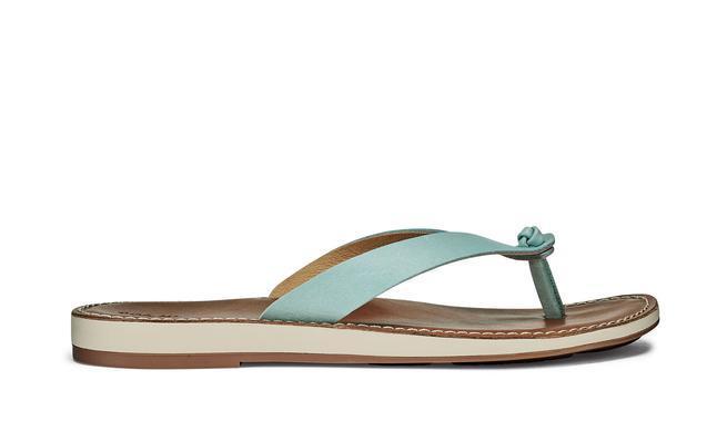 Olukai Women's Nohie Sandal TIDE_BLUE/TAN