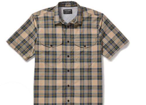 C.C. Filson Men's Plaid Twin Lakes Sport Shirt