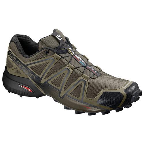 Salomon Men's Speedcross 4 Wide Running Shoe