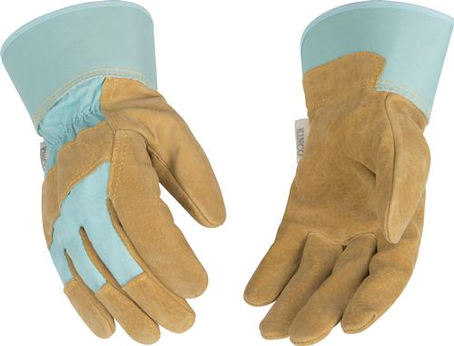 Kinco Women's Suede Pigskin Palm with Safety Cuff