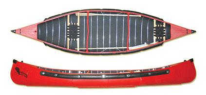 Radisson Canoe 14ft Pointed Canoe with Web Seats