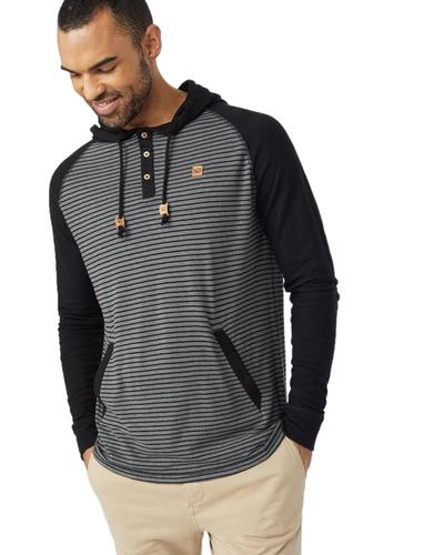 Tentree Men's Hemp Gunnison Hooded Henley