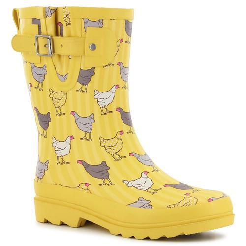 Washington Shoe Company Kid's Fowl Play Mid Rainboots