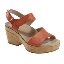 Earth Shoes Women's Khaya Kella Sandal ORANGE