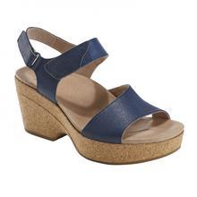 Earth Shoes Women's Khaya Kella Sandal SAPPHIRE_BLUE