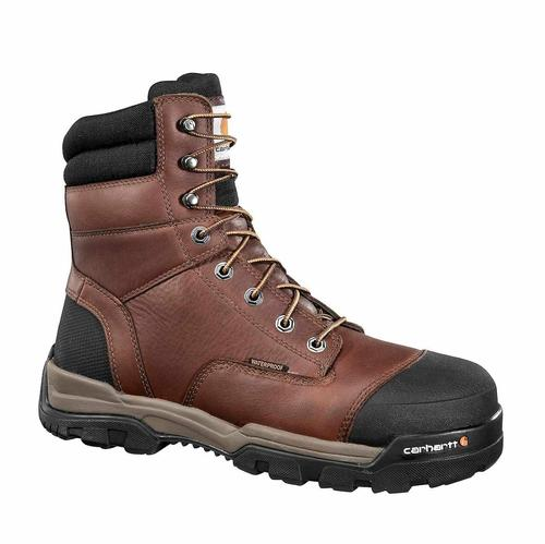 Carhartt Men's Ground Force 8in Composite Toe Waterproof Work Boot