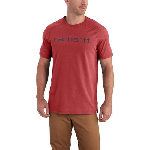 Carhartt Men's Force Delmont Graphic Tee Short Sleeve
