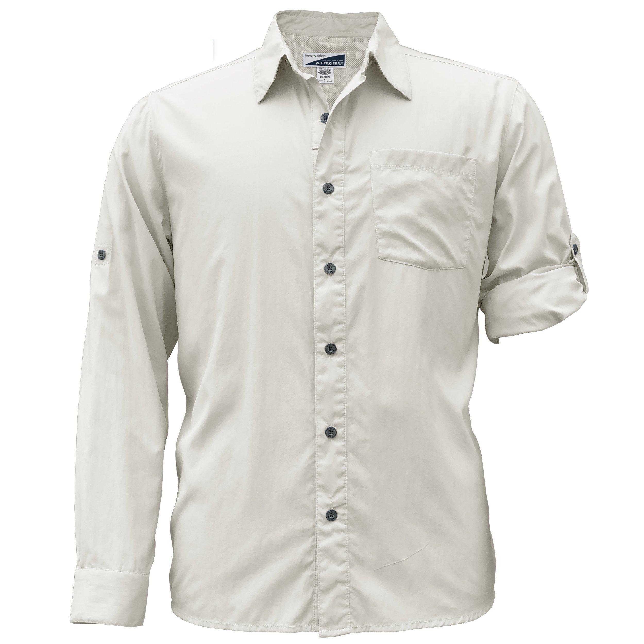 White Sierra Men's Bug Free Kalgoorlie Long Sleeve Shirt