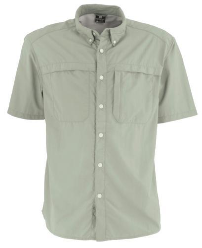 White Sierra Men's Kalgoorlie Cool Touch Short Sleeve Shirt