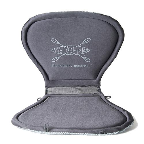 Yakpads Paddle Saddle Gel Filled Kayak Seat Pad With High Back Rest