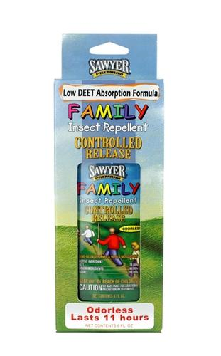 Sawyer Low Deet Controlled Release Family Insect Repellent