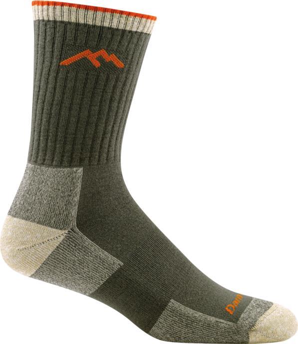 Darn Tough Coolmax Micro Crew Cushion Hiker Sock OLIVE