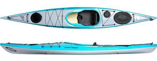 Current Designs Vision 140 Hybrid Kayak with Skeg