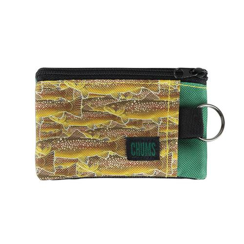 Chums Earl Fish Print Surfshort Wallet