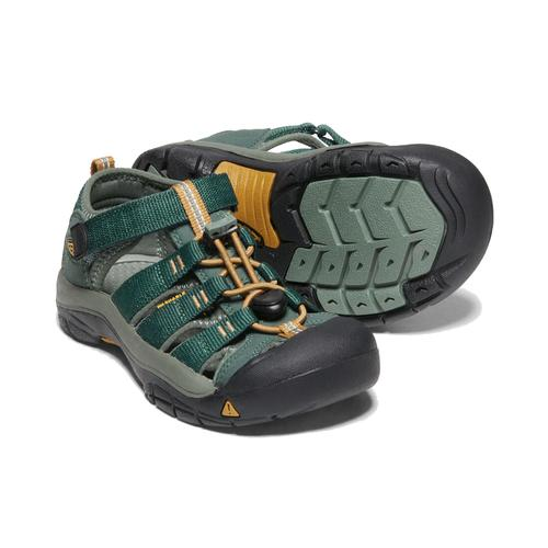 Keen Big Kid's Newport H2 in Green Gables Wood Thrush