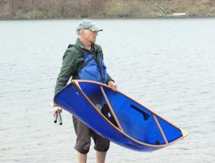 Slipstream Wee Lassie 10ft 6in Hybrid Canoe with Ash Gunwales