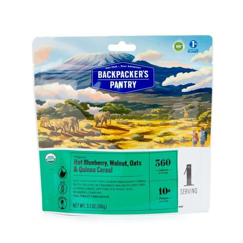 Backpackers Pantry Blueberry Walnut Oats and Quinoa
