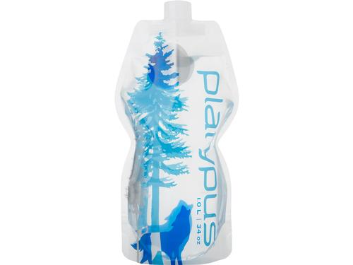 Platypus Soft 1L Bottle Wild Blue Push Pull Cap