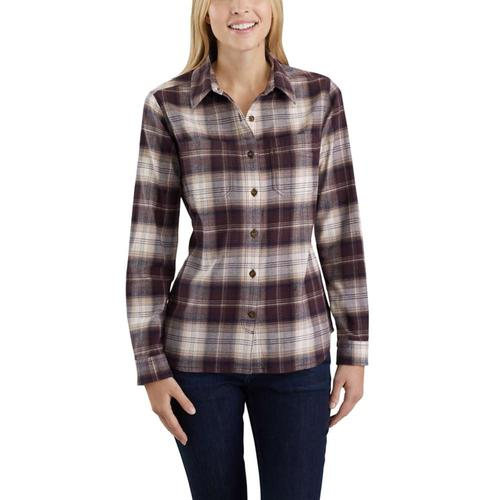 Carhartt Women's Rugged Flex Hamilton Flannel Long Sleeved Shirt
