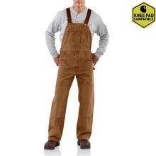 Carhartt Men's Sandstone Duck Bib Overalls