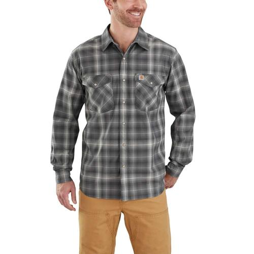 Carhartt Men's Bozeman Plaid Snap Front Long Sleeve Shirt
