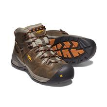 Keen Men's Detroit XT Mid Soft Toe Waterproof Boot BLACK_OLIVE