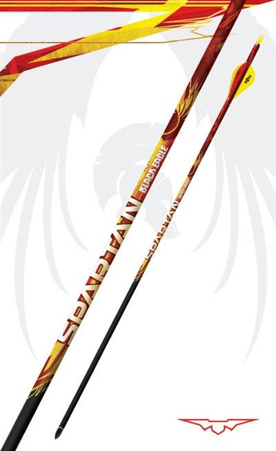 Black Eagle Arrows Spartan .001 Arrows