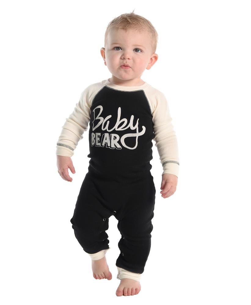 Lazy One Infants ' Baby Bear Flapjack Onesie