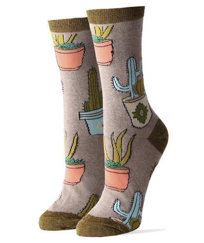 Sock It Up Women's Cactus Hugs Socks
