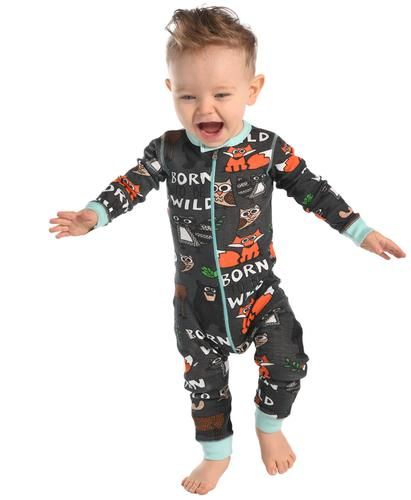 Lazy One Infants' Born To Be Wild Union Suit